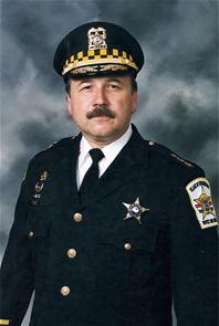 Chief of Police Michael Saunders